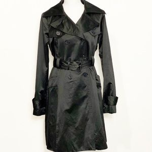 BEBE- Double Breasted Trench Coat. Size Large📍